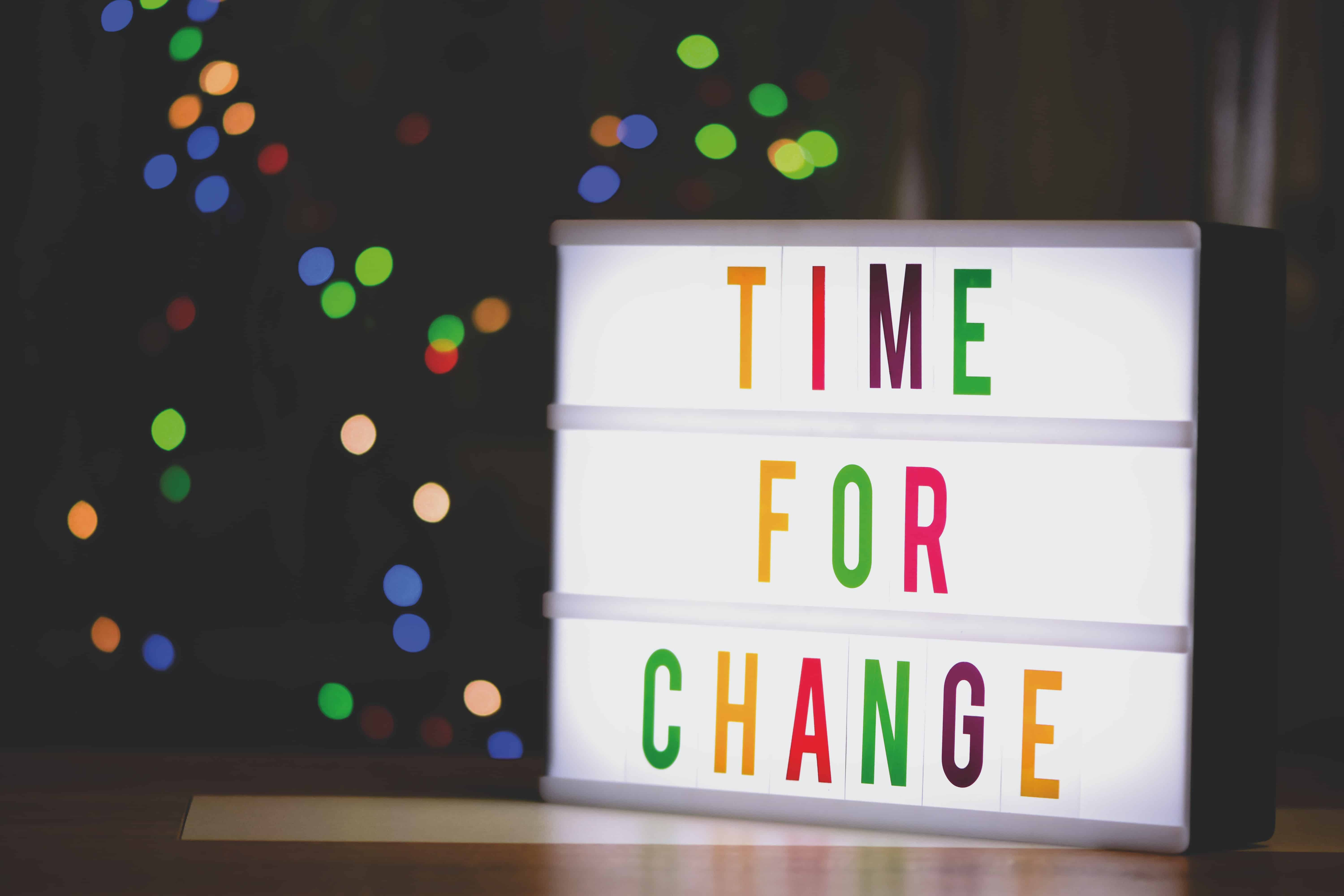 What motivates a person to change sign.